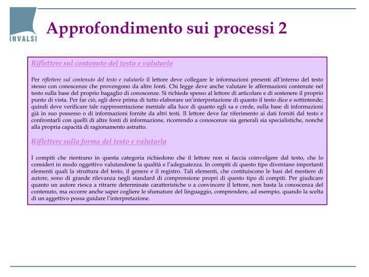 Approfondimento sui processi 2