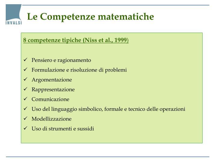 Le Competenze matematiche