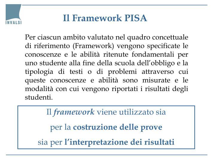 Il Framework PISA