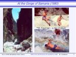 at the gorge of samaria 1980