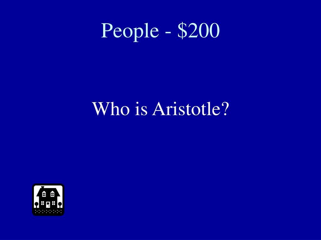 People - $200