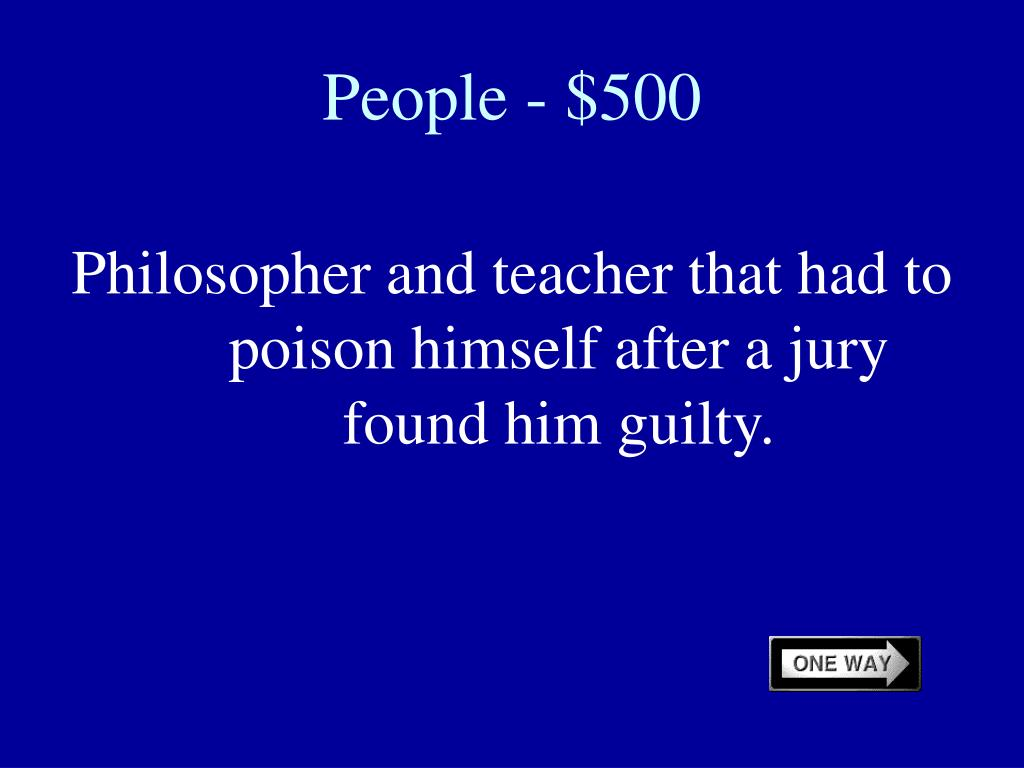 People - $500