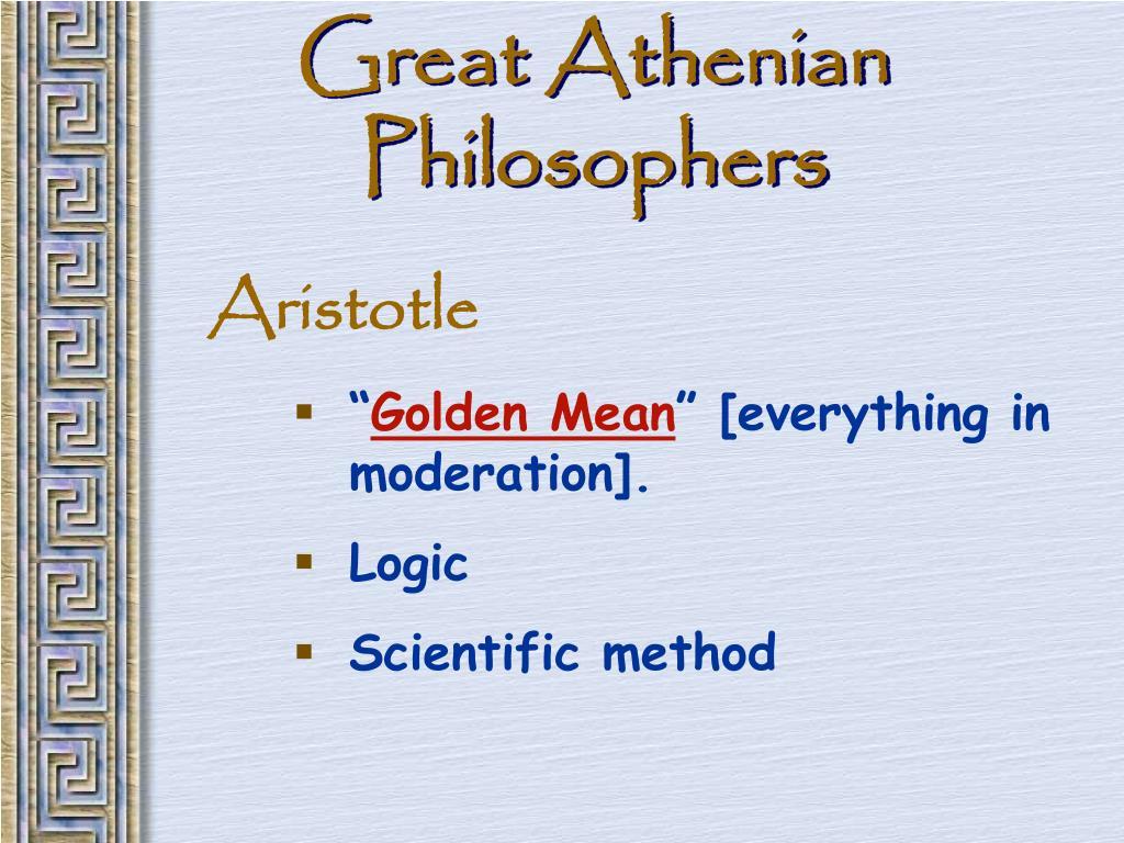 Great Athenian Philosophers