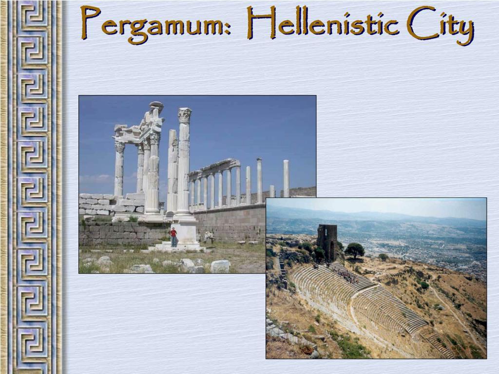 Pergamum:  Hellenistic City