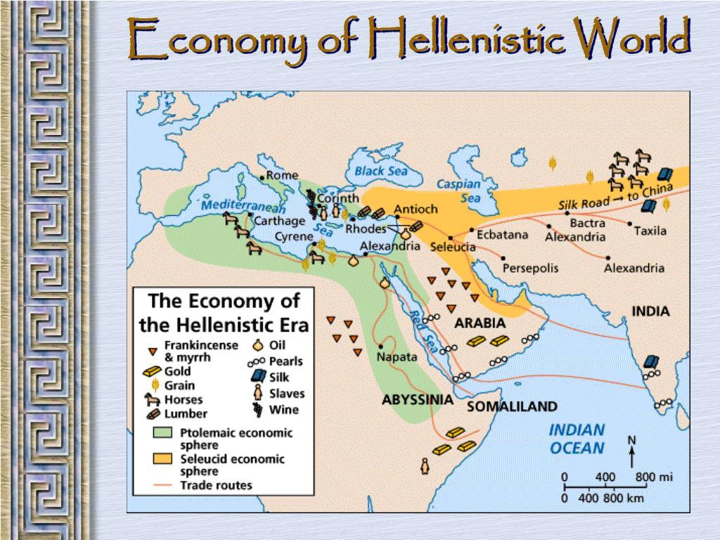 Economy of Hellenistic World