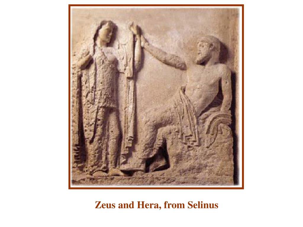 Zeus and Hera, from Selinus
