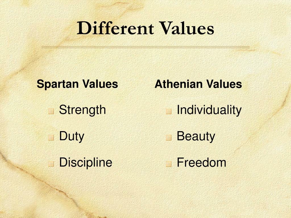 Spartan Values