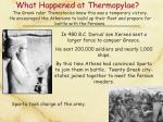 what happened at thermopylae