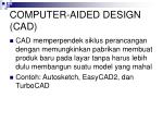 computer aided design cad