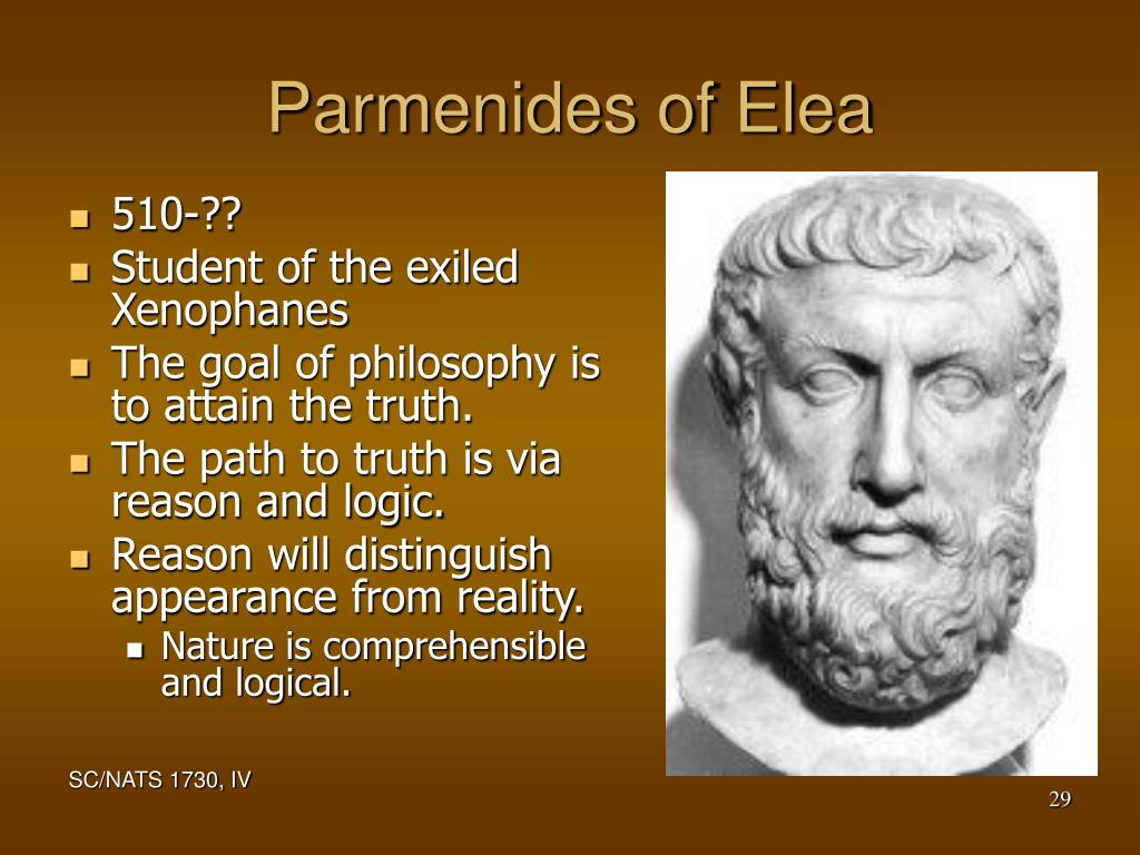 Parmenides of Elea