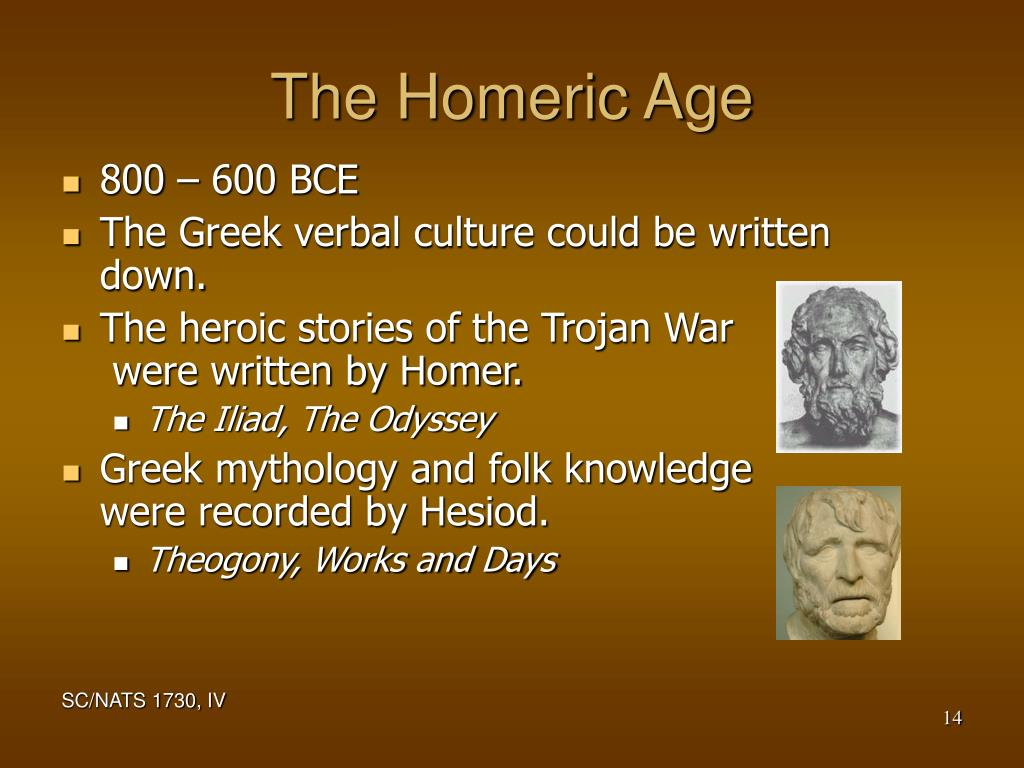 The Homeric Age
