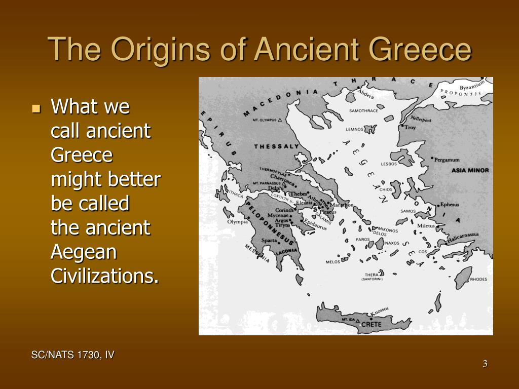 The Origins of Ancient Greece