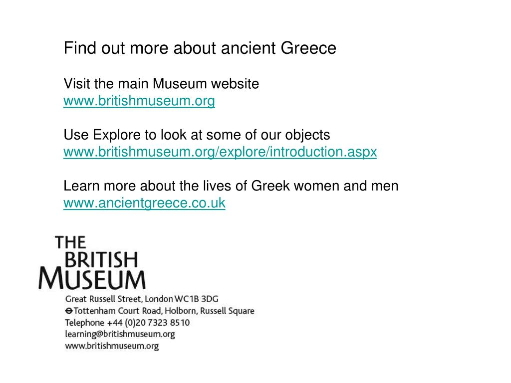 Find out more about ancient Greece