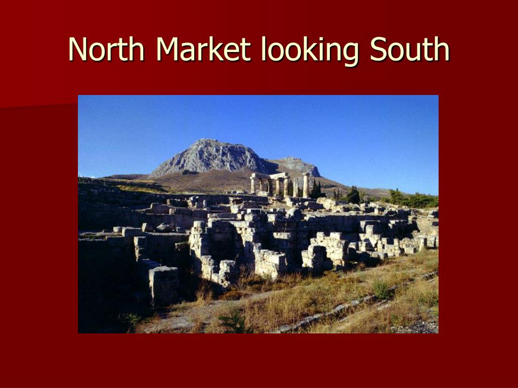 North Market looking South