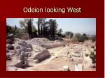 odeion looking west