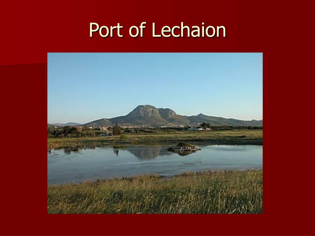 Port of Lechaion