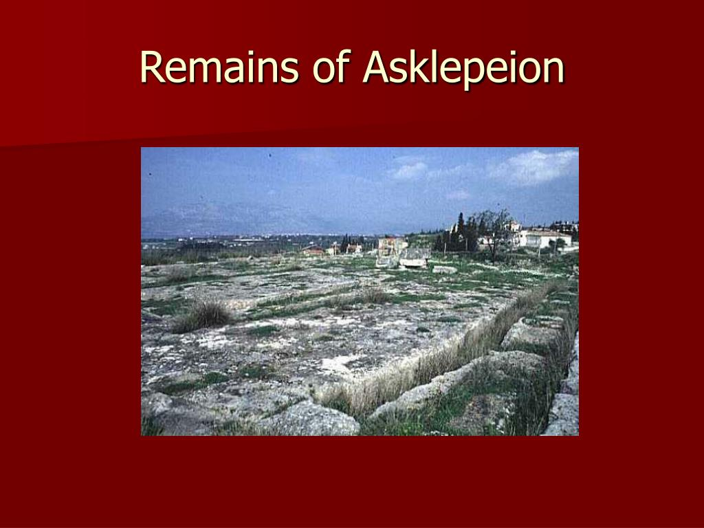 Remains of Asklepeion