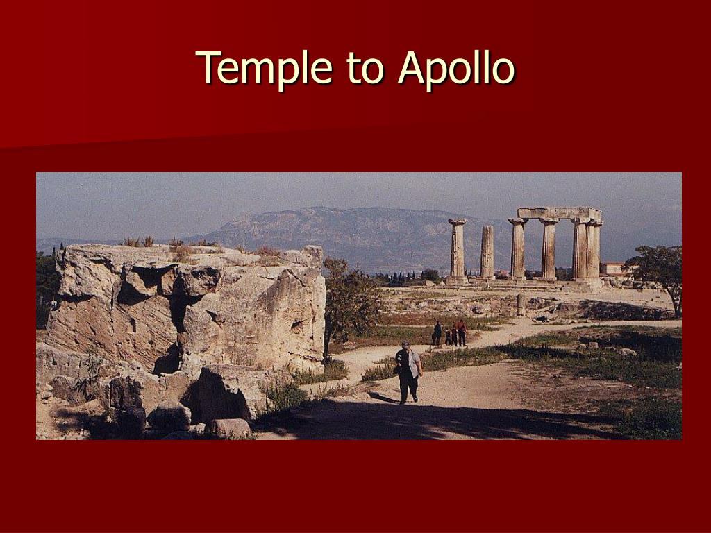 Temple to Apollo