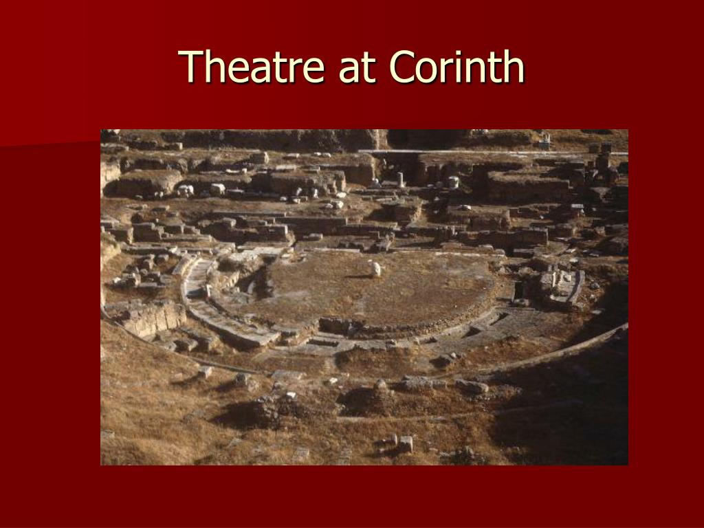 Theatre at Corinth