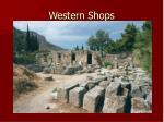 western shops