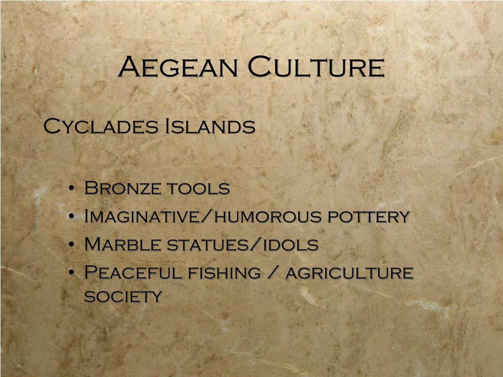 Aegean Culture