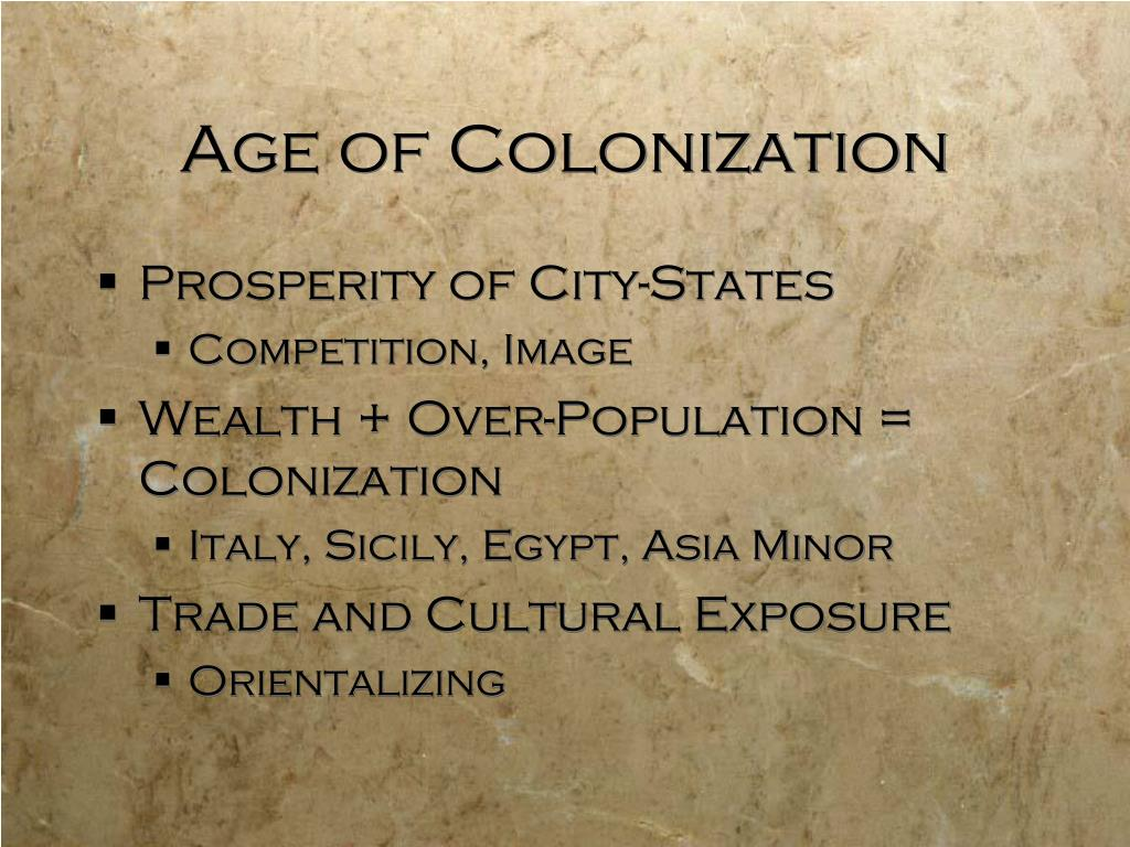 Age of Colonization