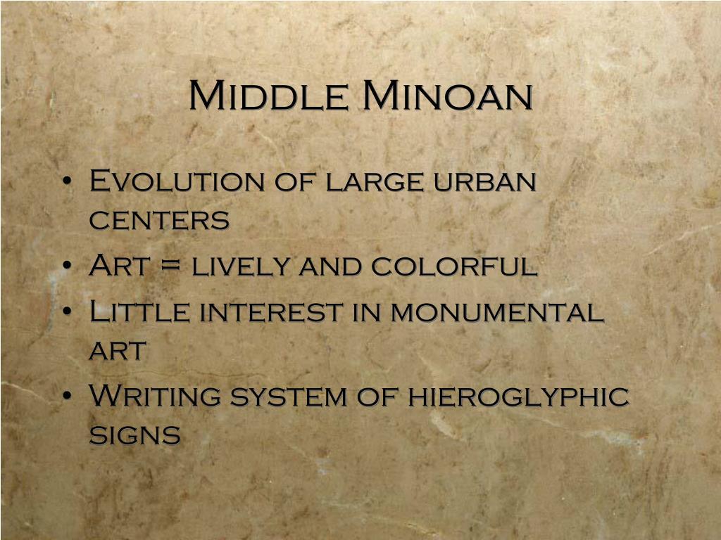 Middle Minoan