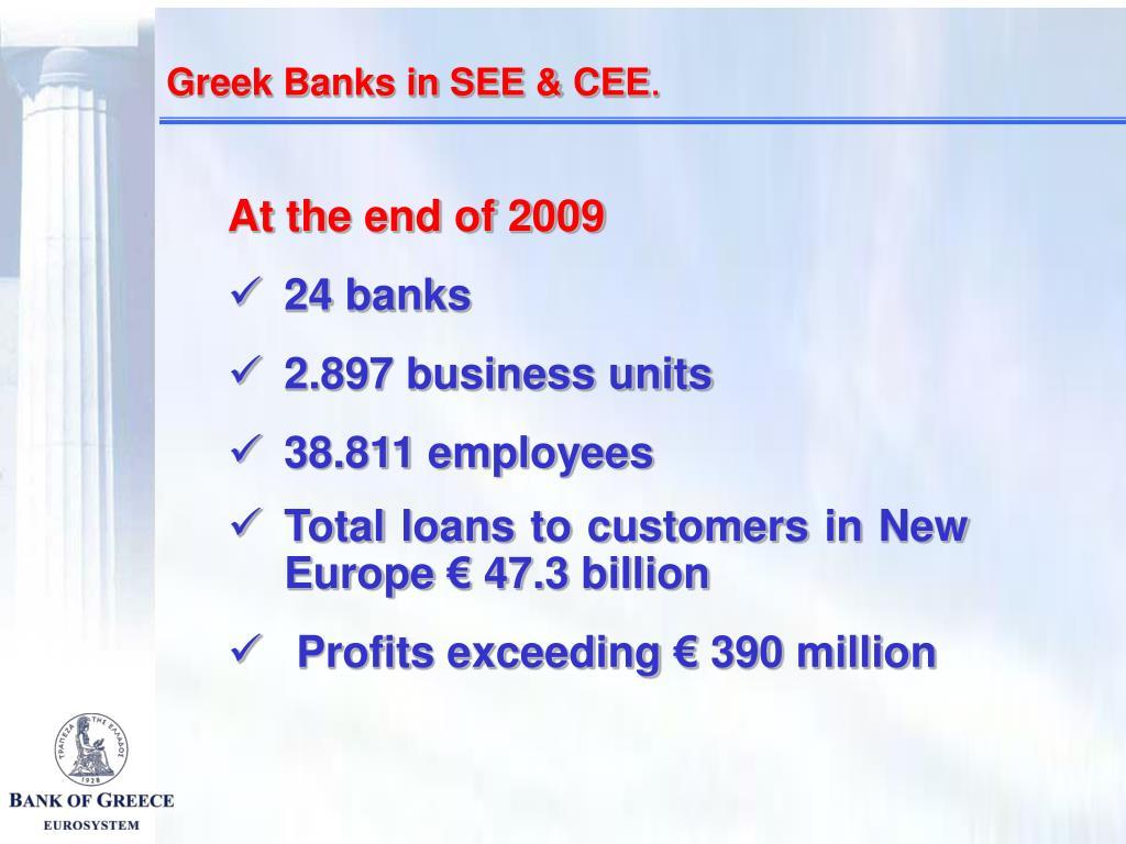 Greek Banks in SEE & CEE
