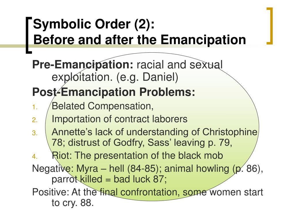 Symbolic Order (2):
