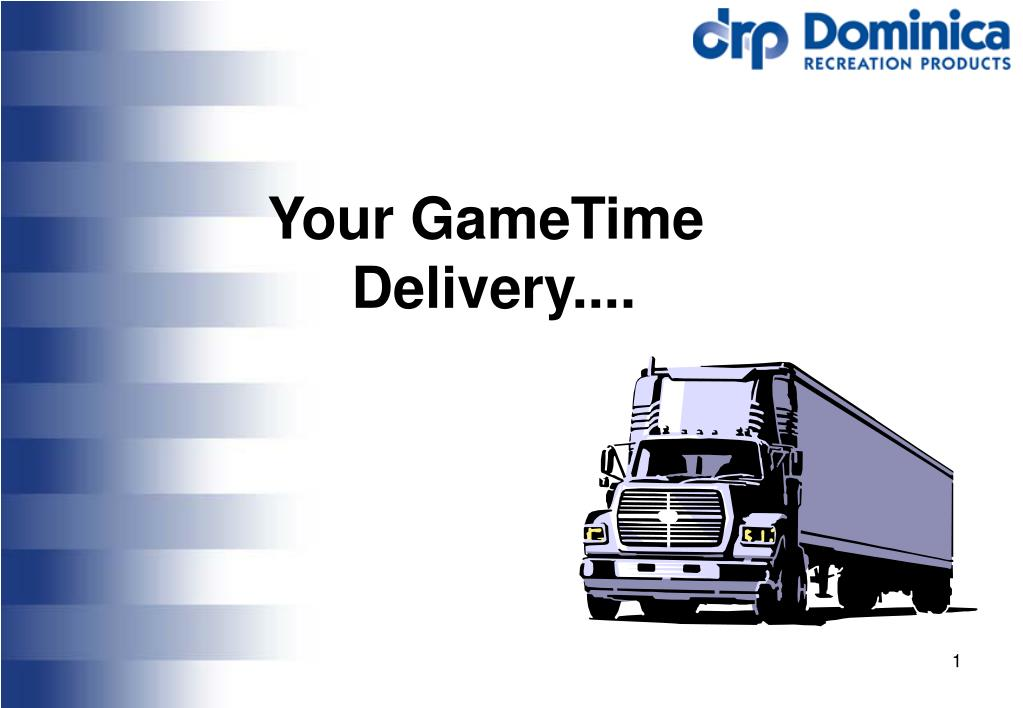 your gametime delivery