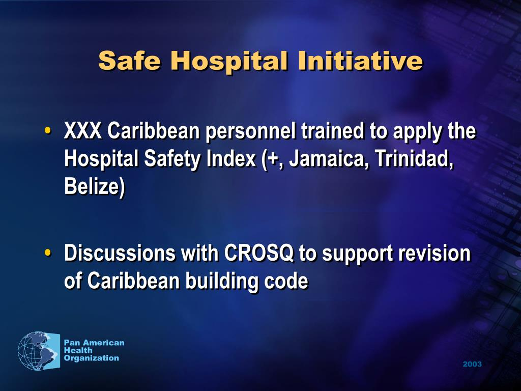 Safe Hospital Initiative