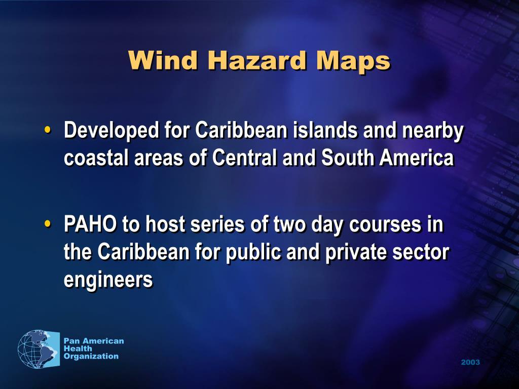 Wind Hazard Maps