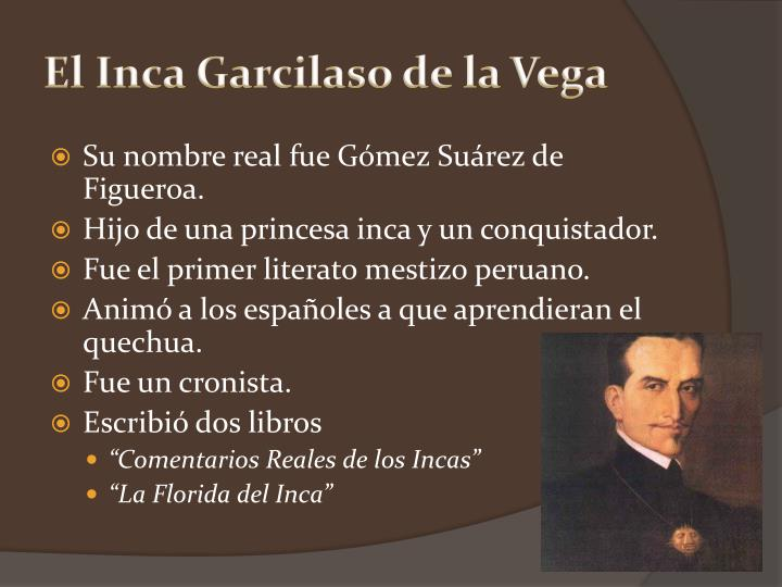 El Inca Garcilaso de la Vega