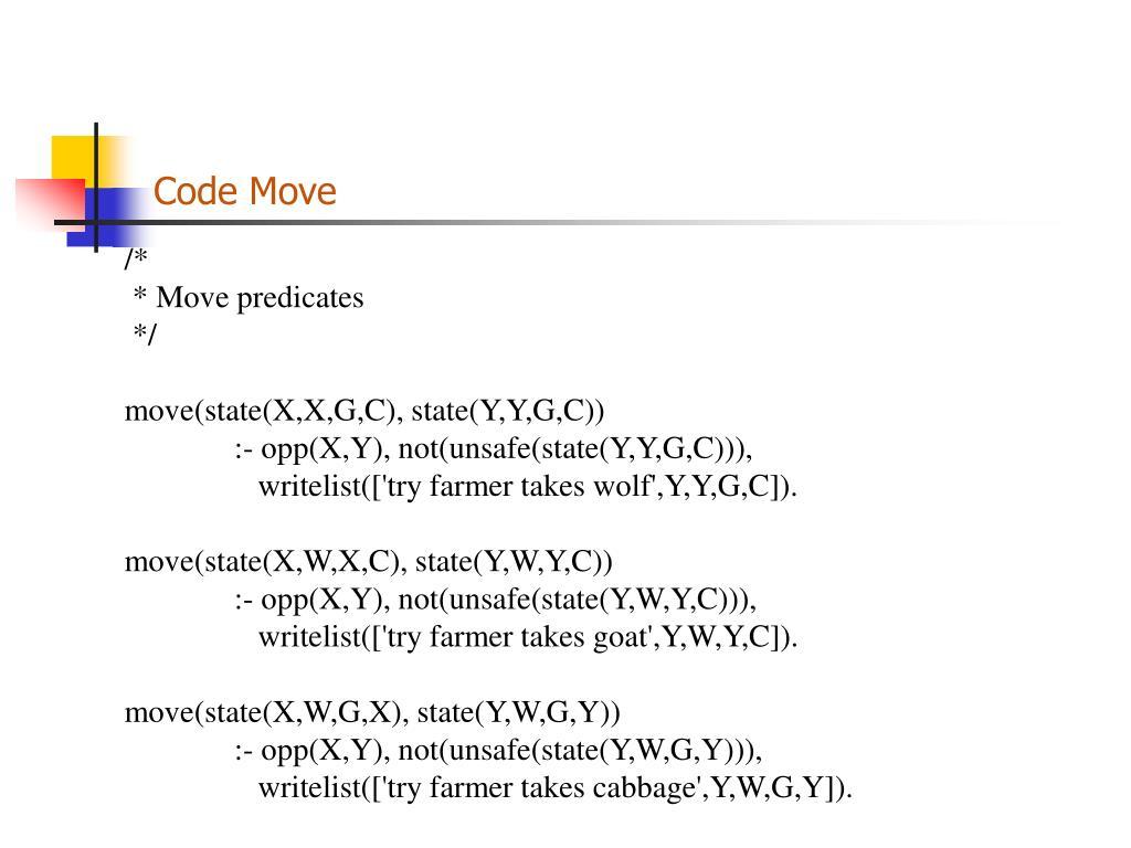 Code Move