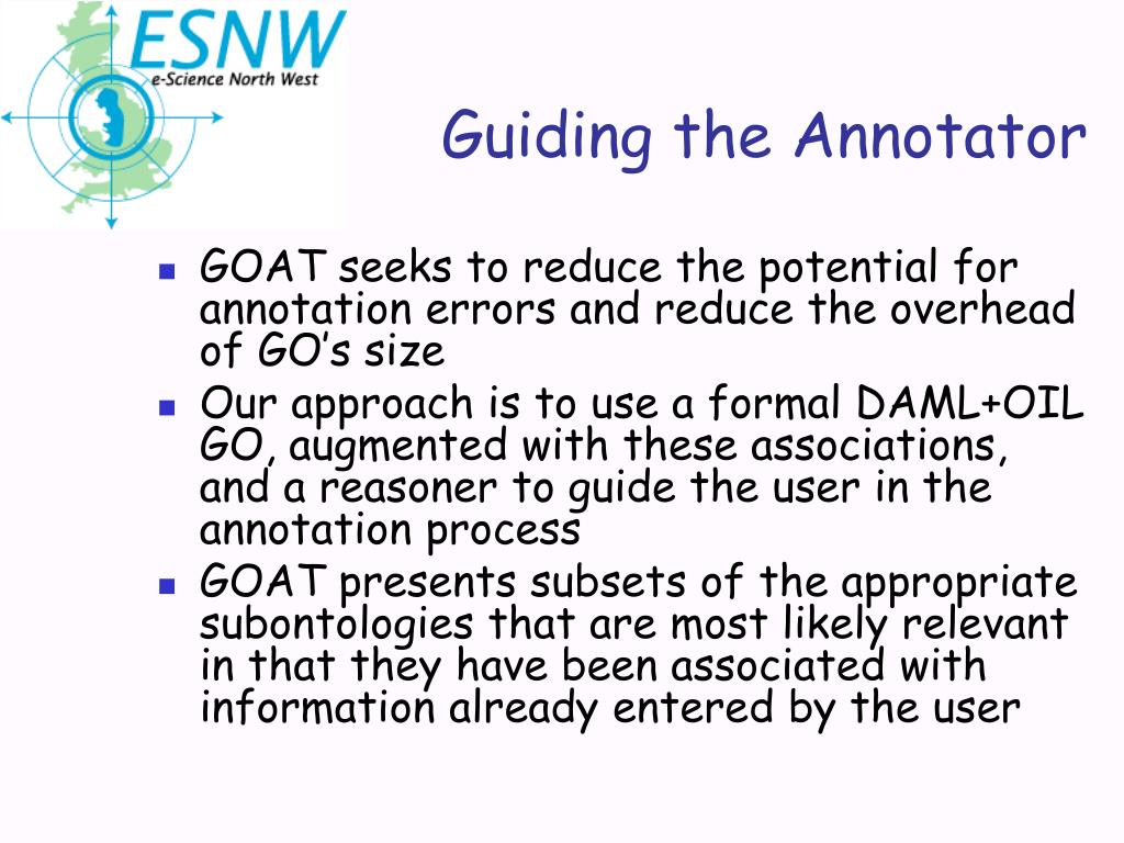 Guiding the Annotator