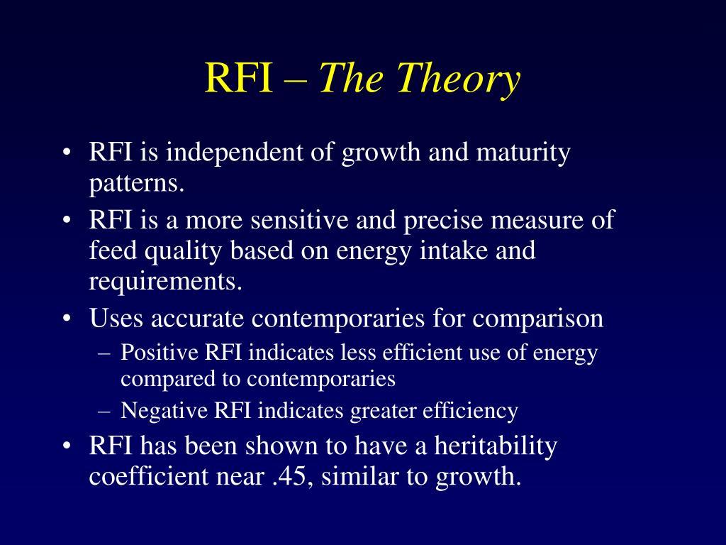 RFI –