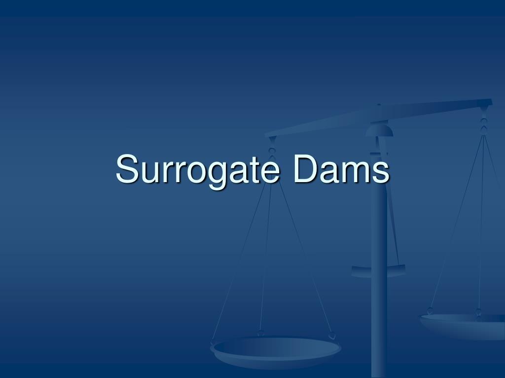 Surrogate Dams