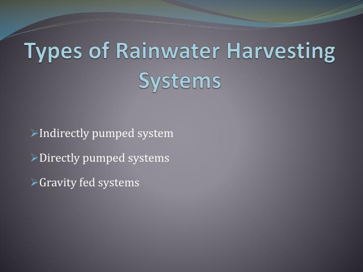 Ppt Rainwater Harvesting For Domestic Use In Ireland