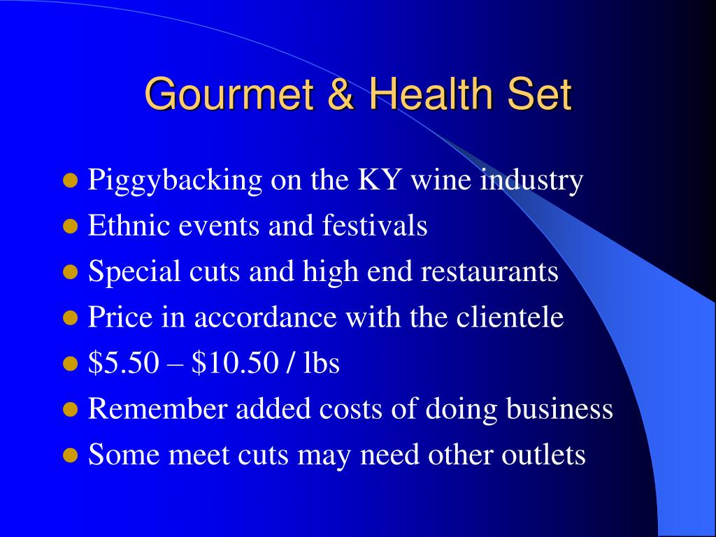 Gourmet & Health Set