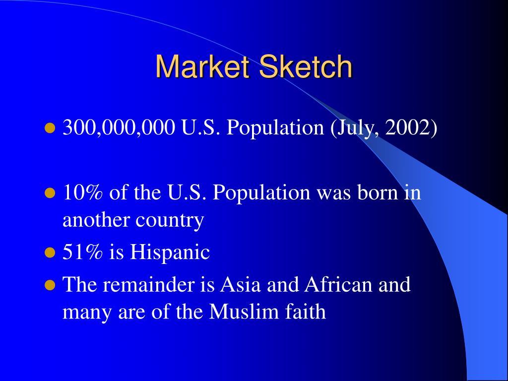 Market Sketch