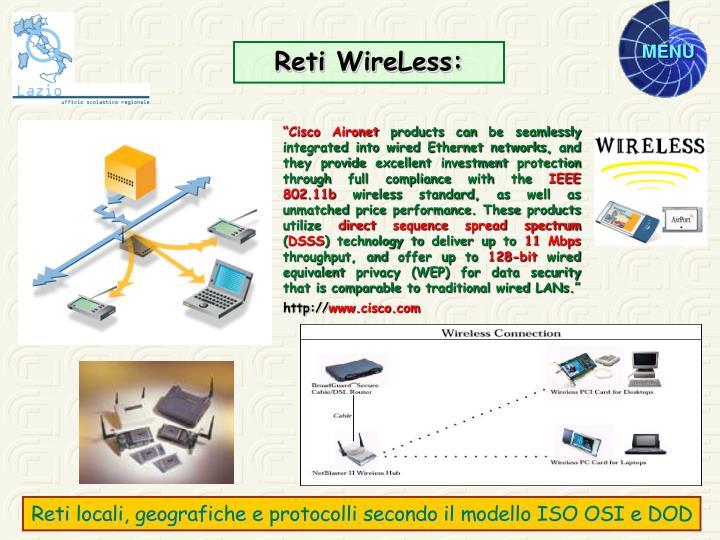 Reti WireLess: