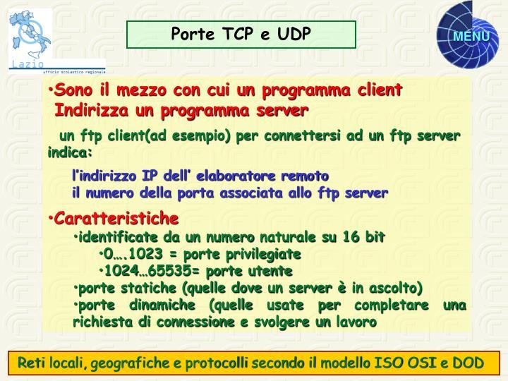 Porte TCP e UDP