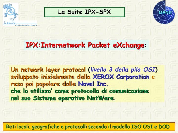 La Suite IPX-SPX