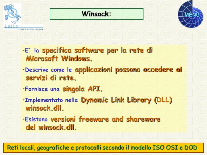 Winsock: