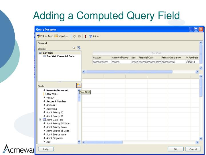 Adding a Computed Query Field