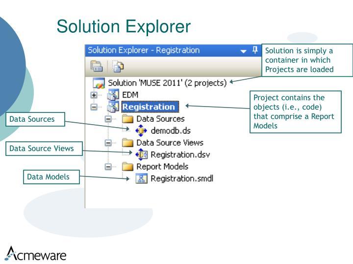 Solution Explorer