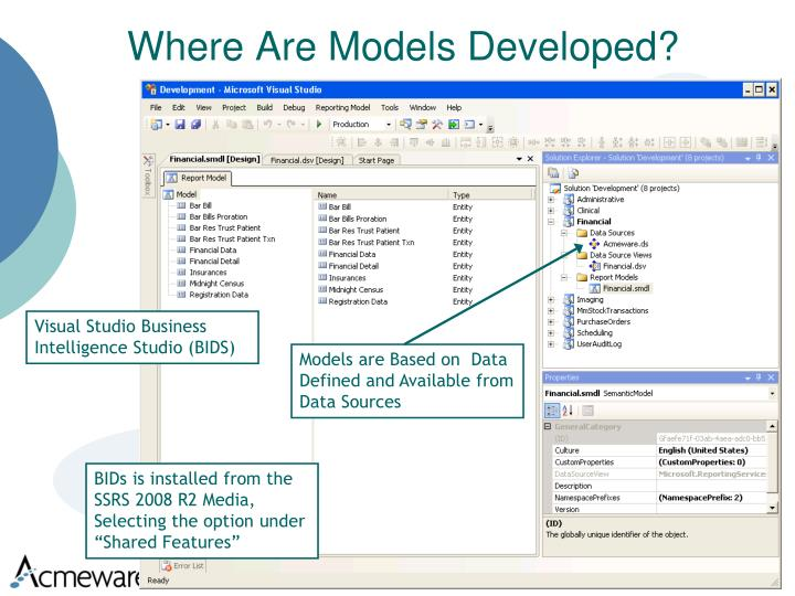 Where Are Models Developed?