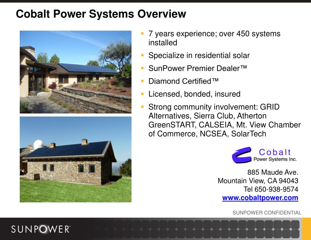 Cobalt Power Systems Overview
