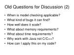 old questions for discussion 2