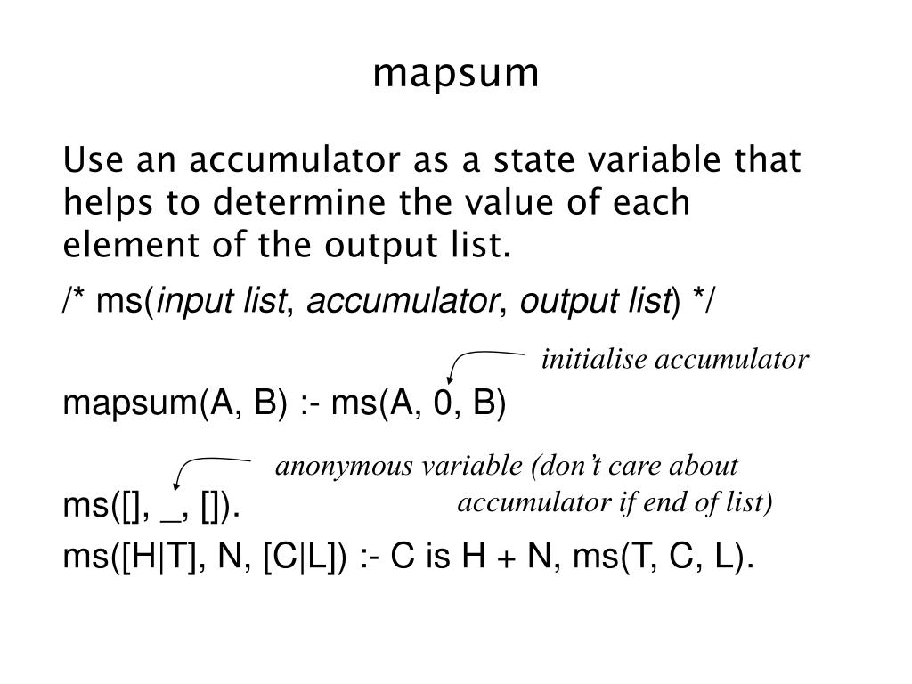 mapsum